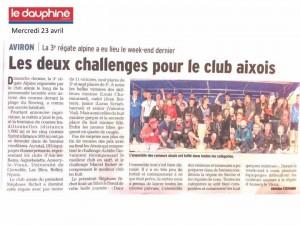 23 avril régate d'Aix