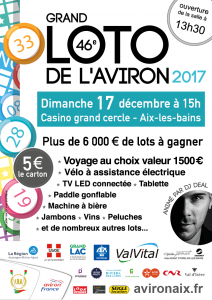 Affiche loto coul